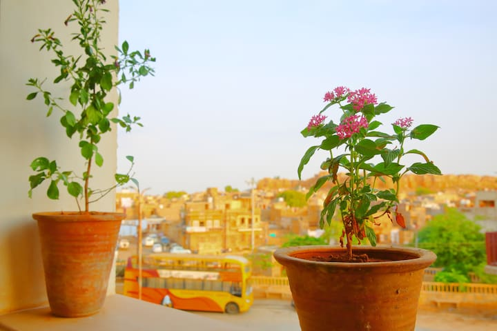 Quiet stay in Jaisalmer