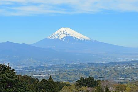 Magnificent mount Fuji. BBQ while watching Mt Fuji
