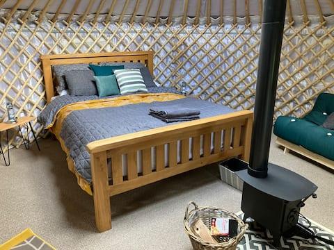 Sugi Yurt, Hinoki Retreat, Newburgh Priory Estate