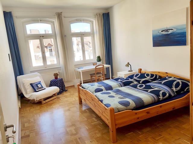 Sonnig-ruhiges Gästezimmer in Altbau am Bebelplatz - Kassel - Appartement