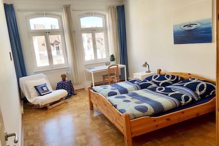 Sonnig-ruhiges Gästezimmer in Altbau am Bebelplatz - 卡塞爾