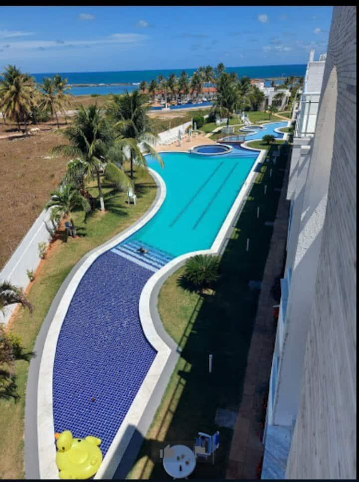 Flat - Tabatinga beach Resort - praia de Tabatinga