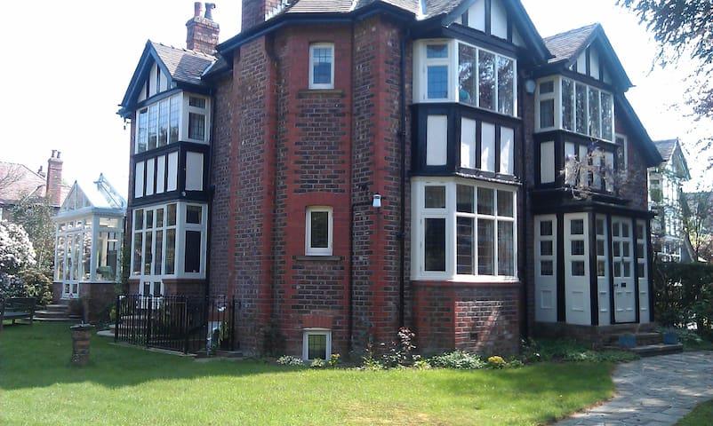 Hale village garden flat