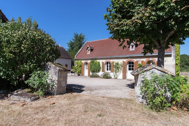 Luxurious Holiday Home in Montrichard with Pool