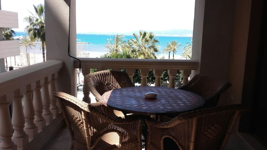 Cute apartment  few steps from the beach in Arenal - Llucmajor - Appartement