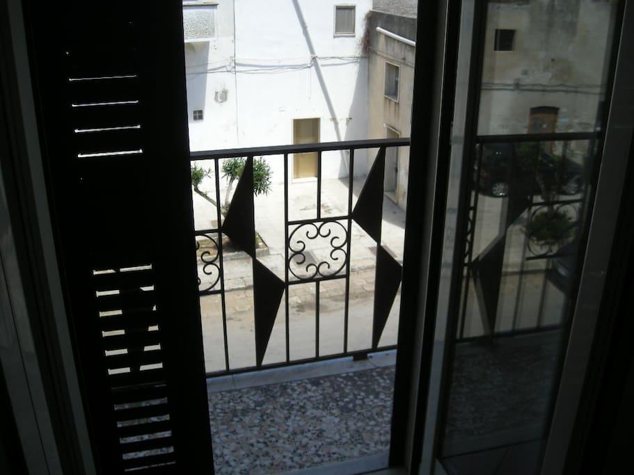 Balcone della camera da letto