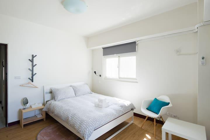 好睏新竹bnb雙人套房(竹中火車站旁)Double Suite含早餐 - 新竹縣 - Bed & Breakfast