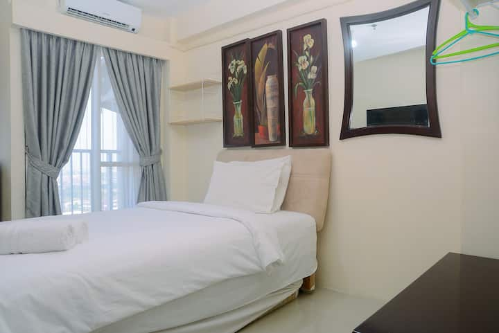 Comfy with City View Studio at Tifolia Apartment