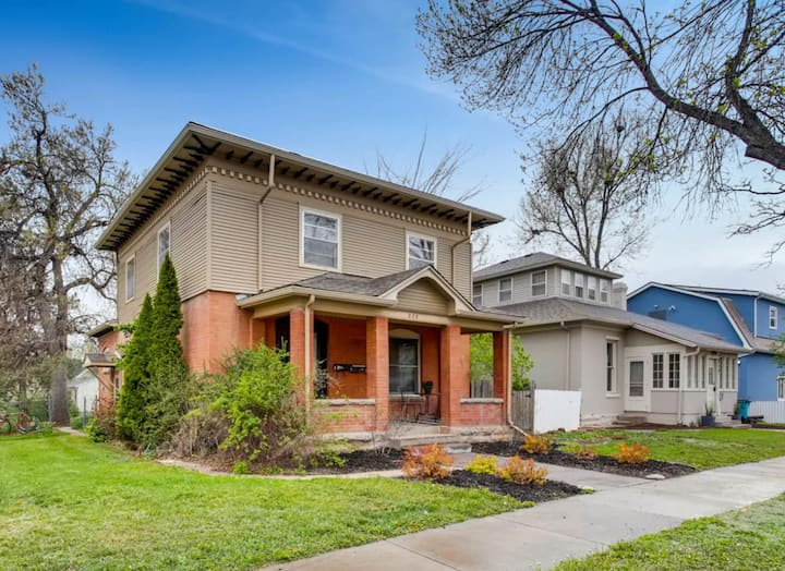 Old Town Fort Collins Modern Bungalow