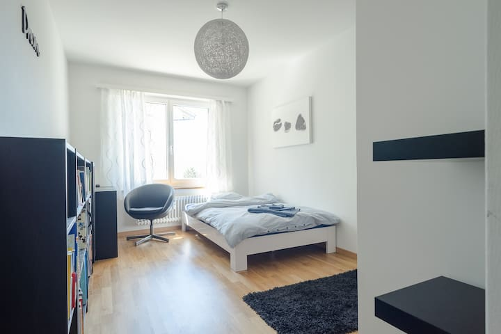 Central uptown Zurich room - Zurych - Apartament