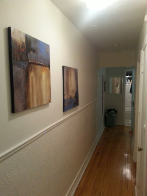 Art galery hallway