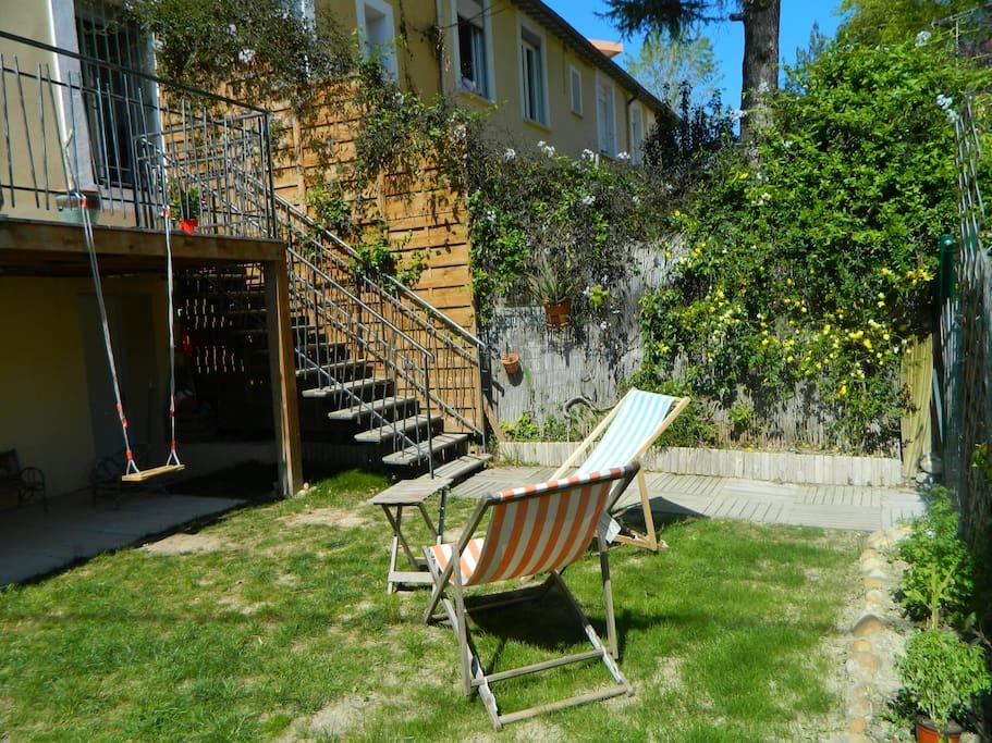Maison terrasse jardin en ville maisons louer - Terrasse et jardin en ville montpellier ...