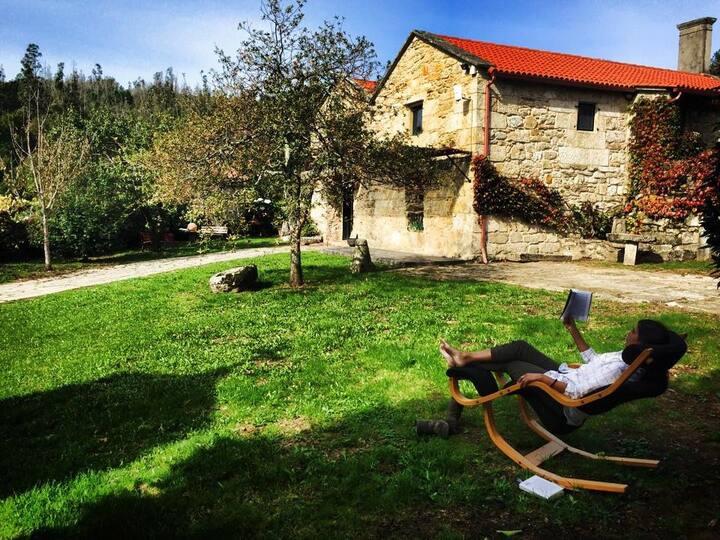 Impressive rural house in Galicia