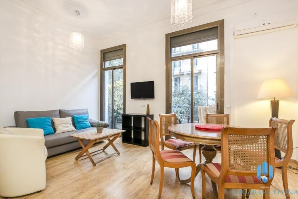 5min walk from the ramblas appartamenti in affitto a for Appartamenti barcellona affitto annuale