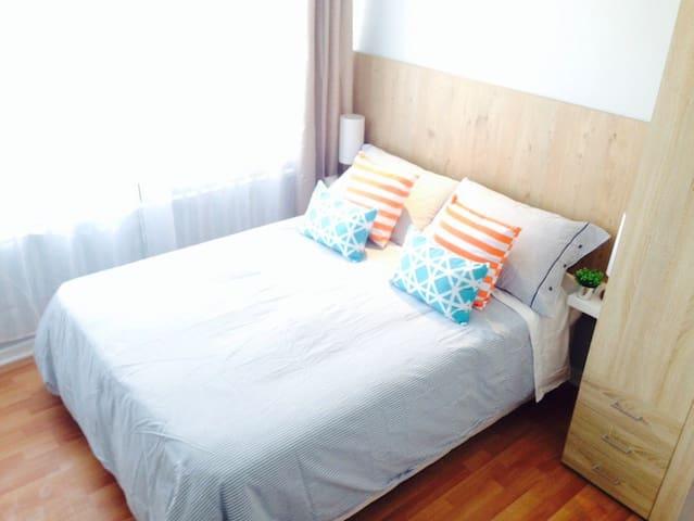 NICE ROOM IN SANTIAGO. FRIENDLY :)