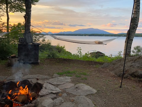 Cozy Cabin on Ambajejus Lake, ME