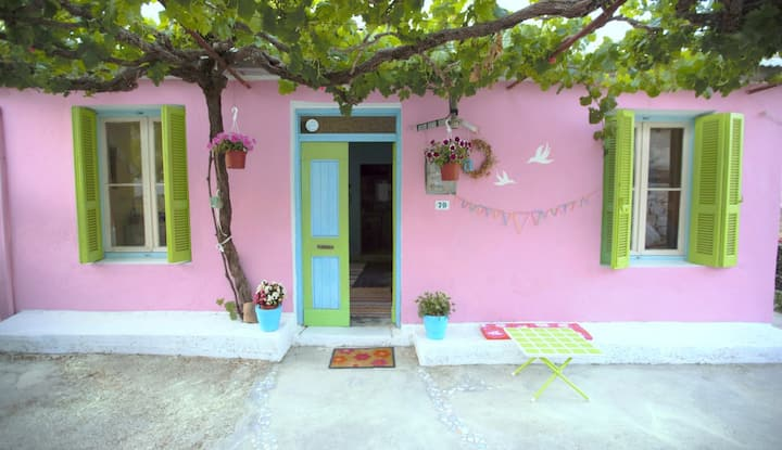 Spitaki, dreamy holiday house in Agalas Zakynthos