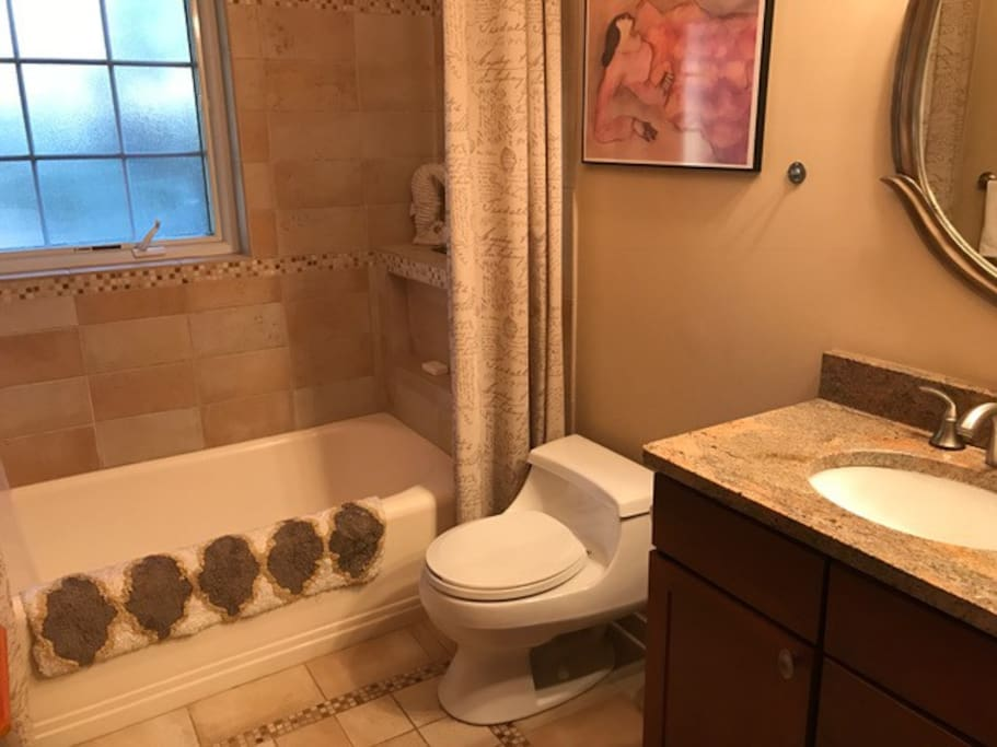 Full Bath with Deep Tub and Shower