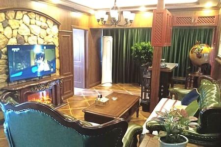 市中心全新豪华170平6~9人【带麻将】