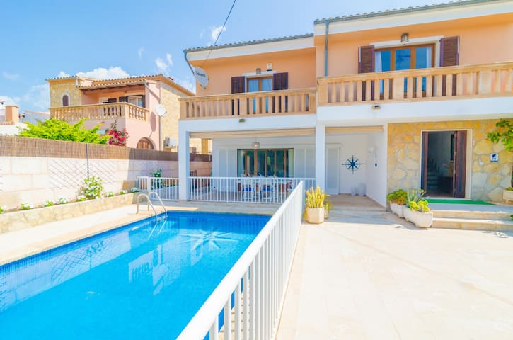 XALET CA S'HEREU - Villa for 8 people in Cala Millor.