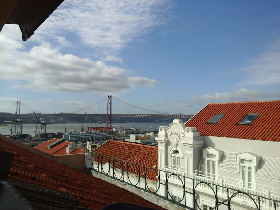 View over the Tejo