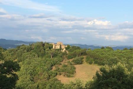 Spectacular hilltop villa in Umbria - Monte Santa Maria Tiberina