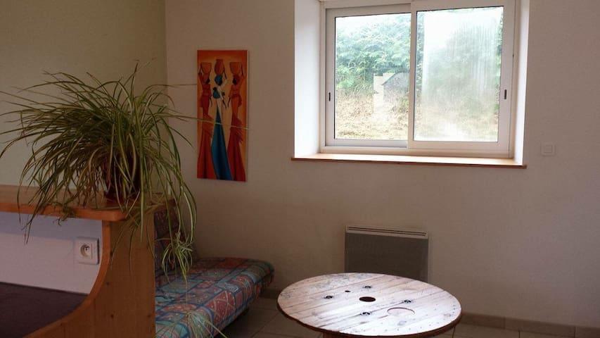 Petite maison en pierre en campagne - Plouédern - Appartement
