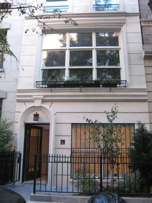 Magnificent townhouse upper east side nyc townhouses for Upper east side townhouses