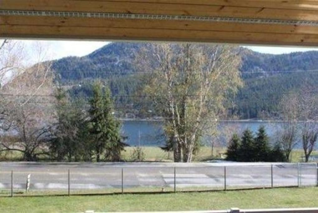 Lake view from front patio