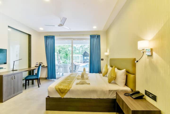 Luxury premium rooms close to Vagator Beach