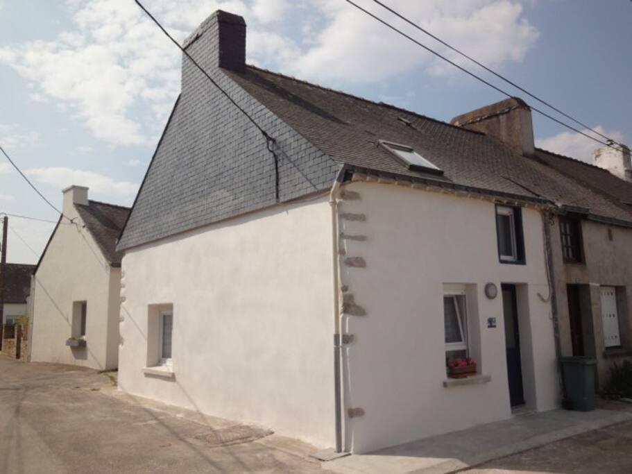 Maison de p cheur proche plage houses for rent in s n bretagne france - Maison pecheur bretagne ...