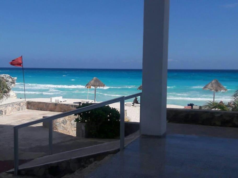 CANCUN, Playa al MAR CARIBE
