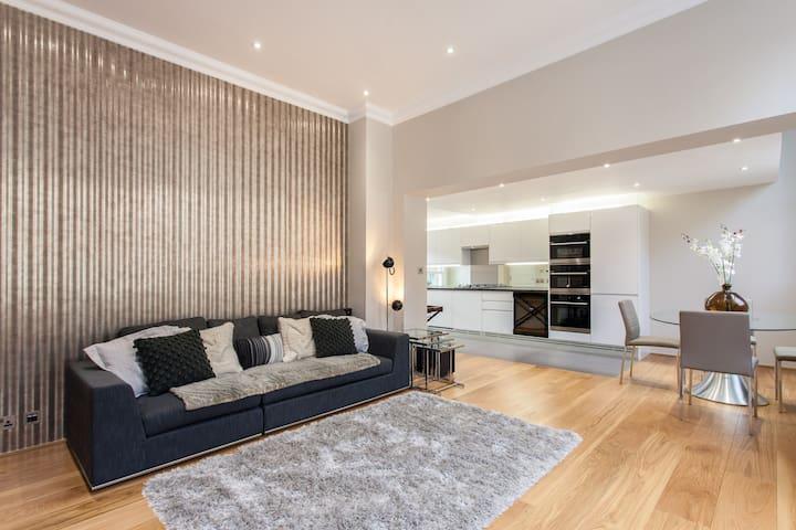 Luxury One Bedroom Apartment in South Kensington