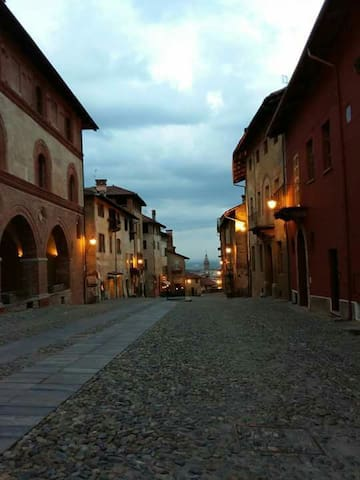 Medieval town of Saluzzo