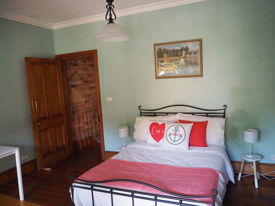 Large bedroom with double bed
