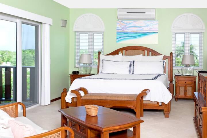 Fountain Ocean View Studio Suite - Shoal Bay - Condominium