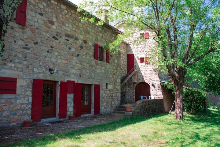 La Charre - Piscine privée, sauna, jardin ...