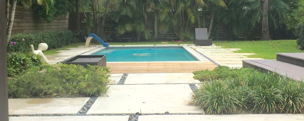 Zen tropical retreat 2 bedrooms - Miami - Apartment