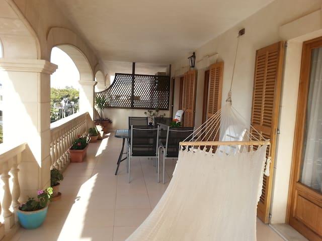 Apartment with large terrace - Colonia de Sant Jordi - Byt