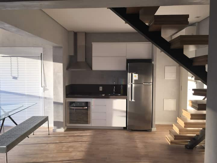 Duplex Apartment Vila Olimpia 70m2