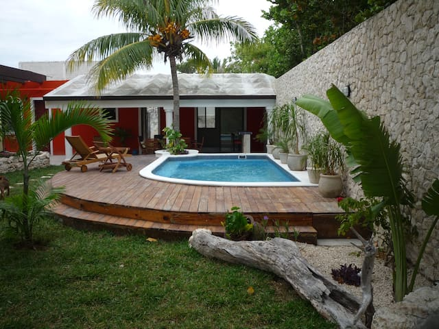 Beachfront Casita - Progreso - Haus