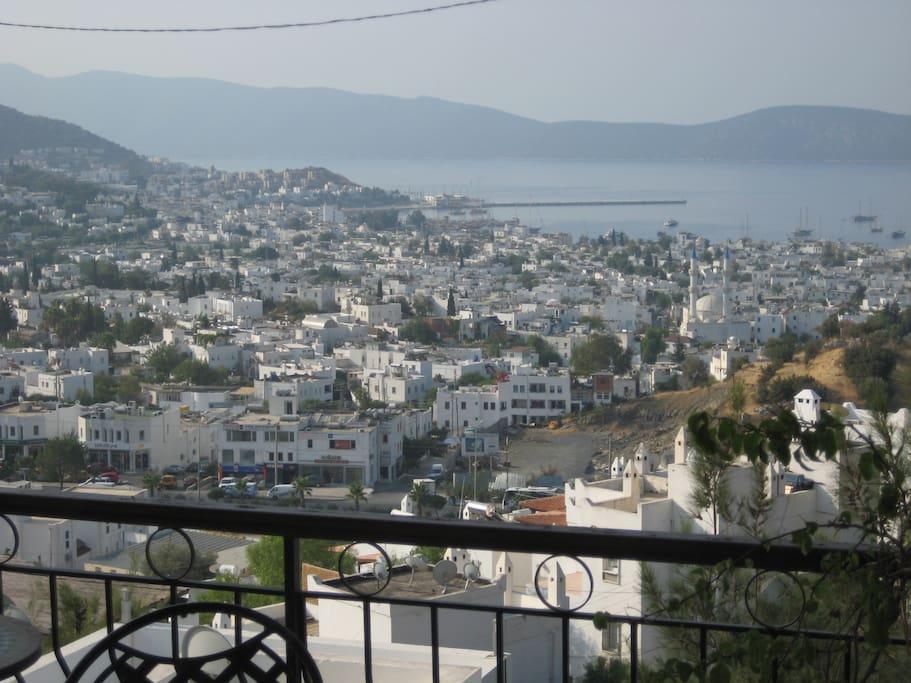 Dairenin balkon manzarası