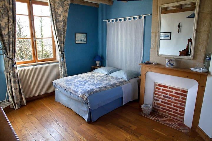 La Mézeray - Chambre Bleue - Drubec - Bed & Breakfast