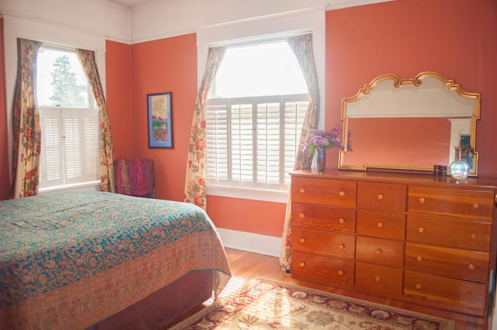 Private room perfect for extended stay travelers!