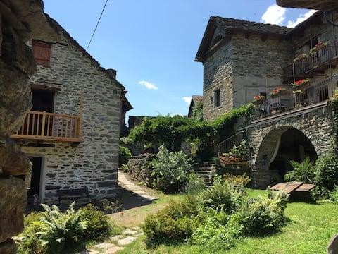 Il fienile del borgo anno 1800 restaurato