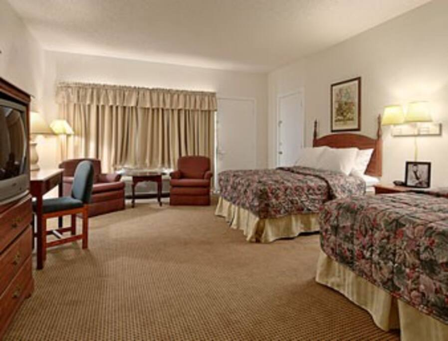 John Wayne Room and other celebrity suites have been visited by stars like William Holden and John Ford.