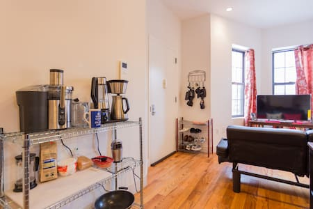 Luxury Queen bedroom, private bath - Brooklyn - Apartment