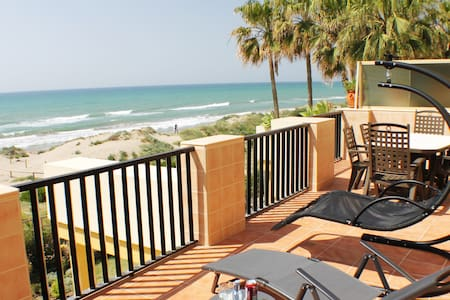 Terrace in best beach of Marbella - Marbella