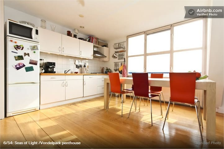 conenction between dining table and relaxing