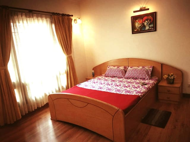 En suite double bedroom for comfort and privacy